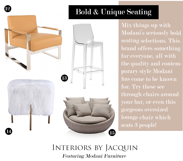 Captivating Forbe Contemporary Camel Leather Chair 13. Kelly Bar Stool 14. Mongolian  Fur Stool 15. Rosana 3 Seater In Off White Design Ideas
